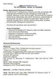 Cv Key Skills Examples Exol Gbabogados Co Adam S Sevte
