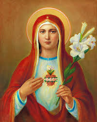 sacred heart of painting immaculate heart of mary by svitozar nenyuk