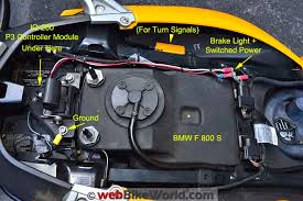 skene p3 brake lights review webbikeworld skene p3 lights wiring on the bmw f800s
