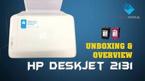 hp deskjet 2131 printer unboxing quick overview