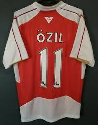 Özil given number 11 shirt by arsenal. Mesut Ozil 11 Men Puma Fc Arsenal 2015 2016 Soccer Football Shirt Jersey Size S Ebay