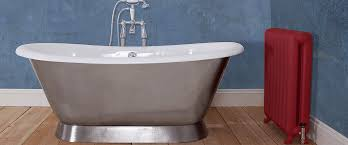 now let s talk about the most old and commonly found baths cast iron bath as the name suggests cast iron bath has a molded iron base
