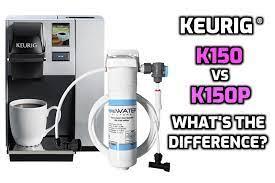 keurig k150 vs k150p what s the