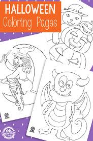 Scary ghost coloring pages, cats, bats coloring pages, pumpkins, coloring pages of witches and scarecrows are just a few of the many printable halloween coloring pages. Free Printable Halloween Coloring Pages Kids Activities Blog