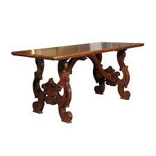 Italian Walnut Dining Table Early 19th Century Italian Walnut Dining Table Foxglove Antiques