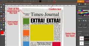 Extra Extra Newspaper Template Blank Newspaper Template Extra Extra P2c Info