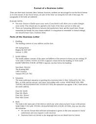 2017 Business Letter Template Fillable Printable Pdf Forms