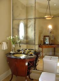 Mirror Tiles Decorating Ideas Bright Mirror Tiles trend Chicago Traditional Powder Room Innovative 69