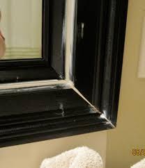 Bathroom Mirror Frame Remodelaholic Bathroom Mirror Frame Tutorial