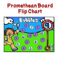 Interactive Number Flip Chart Number Identification Promethean Board Flip Chart And