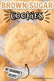 brown sugar cookie recipe chewy brown