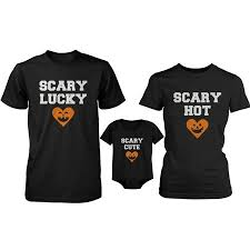 Scary Family Family Matching Shirts And Bodysuit