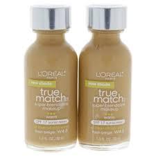 l oreal paris true match super blendable makeup spf 17 w4 5