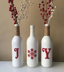 Wine Bottles Decoration Ideas Homely Ideas Christmas Wine Bottles Diy Lights Tree Labels For 89