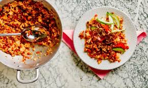 3) in a wok, add in oil and heat up until hot, add in the blended items and fry until fragrant then add in the dried. Nasi Goreng A One Pot Pantry Clean Up Dish At Its Best Australian Food And Drink The Guardian