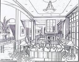 interior design sketches living room. Drawing Interior Design Sketches Unique Photography Living Room And
