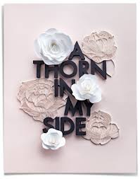 Paper Flower Lyrics Paper Quilled Roses And Typography Inspired By Shining Light Lyrics
