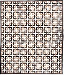 brown and white rug. Eternity-Brown-White-Modern-Leather-Area-Rug.jpg Brown And White Rug