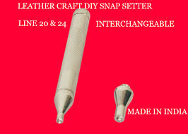 leather craft heavy duty line 20 24 snap setter