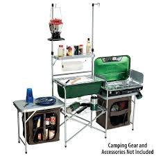 outdoor camping kitchen folding table ideas 4ft worktop outdoor camping kitchen