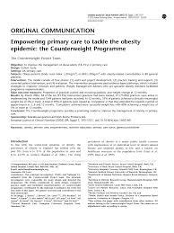 Pdf Empowering Primary Care To Tackle The Obesity Epidemic