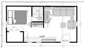 floor plan craker cabin