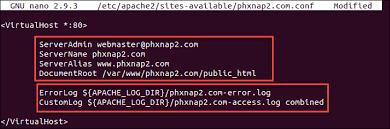 how to configure apache virtual hosts
