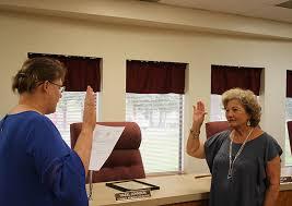 Johnson receives oath of office | Local News | kjas.com