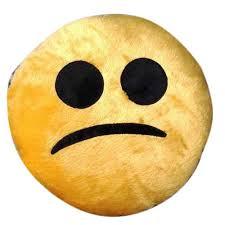 Sad Emoji Pillow
