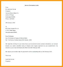 Business Contract Cancellation Letter Termination Template