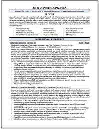Magnificent Ideas Professional Accountant Resume Senior Accountant