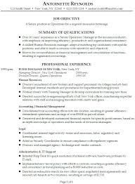 Resume Objective Business] Business Resume Objective 18 Sample .