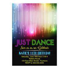 Dance Invitation Ideas Dance Invitations Announcements Zazzle Nz