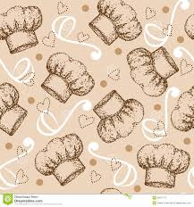 cute cooking wallpaper. Wonderful Cute Cooking Seamless Pattern With Chef Hat For Cute Wallpaper L