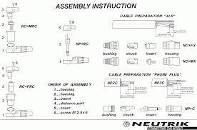 neutrik speakon connector wiring diagram speakon connector to 1/4 at Speakon Connector Wiring Diagram