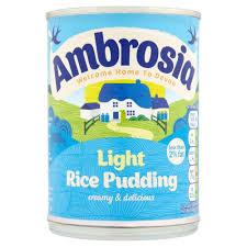 Ambrosia Light Rice Pudding 400g Amazon Com Grocery