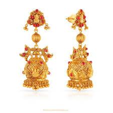 Gold Jhumka Designs For Bridal Gold Jhumkas Online Shopping Types Of Gold Jhumka Designs