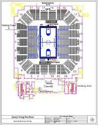 Rimac Arena Seating Chart Arena Map Jenny Craig Pavilion University Of San Diego