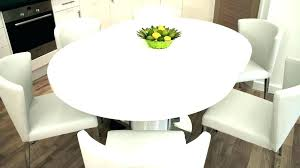 circular extendable dining table modern round extending room exte