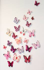 Paper Decorations For Bedrooms 1000 Ideas About Butterfly Wall Decor On Pinterest Paper Wall