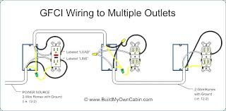 how to wire a gfci outlet a light switch outlet light how to wire a gfci outlet a light switch multiple wiring diagram com com at