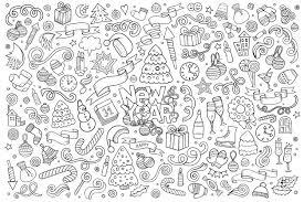 Doodle Colorier Bonne Ann E A Partir De La Galerie Doodle Art