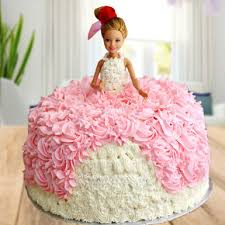 Barbie Doll Cake Winni