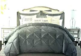 bedding sets quilt king comforter set ruched diamond dark grey cotton duvet cover 7 tahari