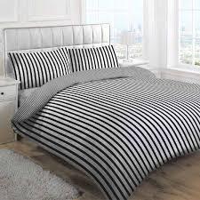 linens limited tik stripe duvet cover set