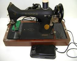 Portable Singer Sewing Machine Antique