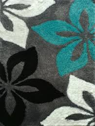 grey and turquoise rug hand tufted gray turquoise area rug turquoise grey black rug