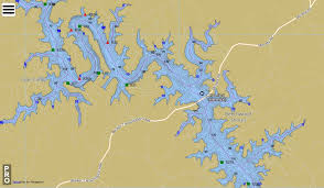 Philpott Lake Depth Chart Free Smith Mountain Lake Online Map With Depths And Channel