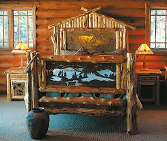 Log Bedroom Furniture Bedroom Rustic Furniture Mall By Timber Creek
