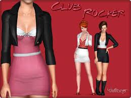Juliana Sims: Club Rocker Dress | Rocker dress, Club dresses, Dresses